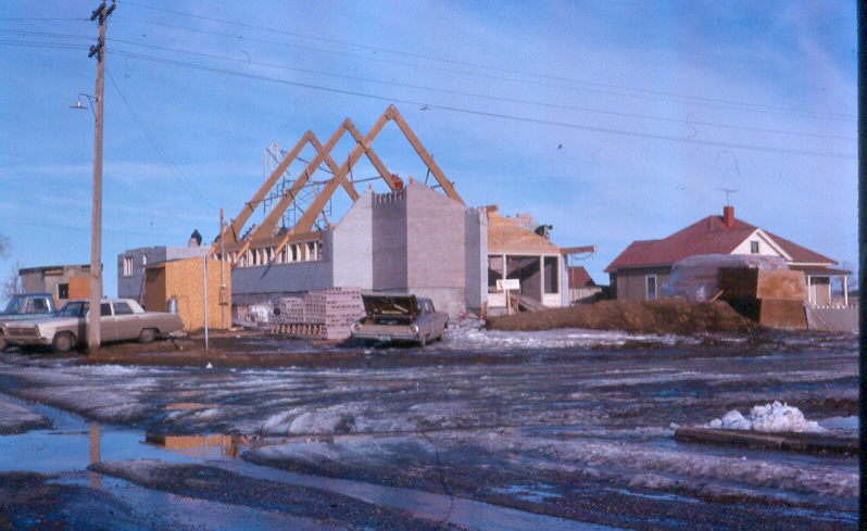 Church buildings construction 1965